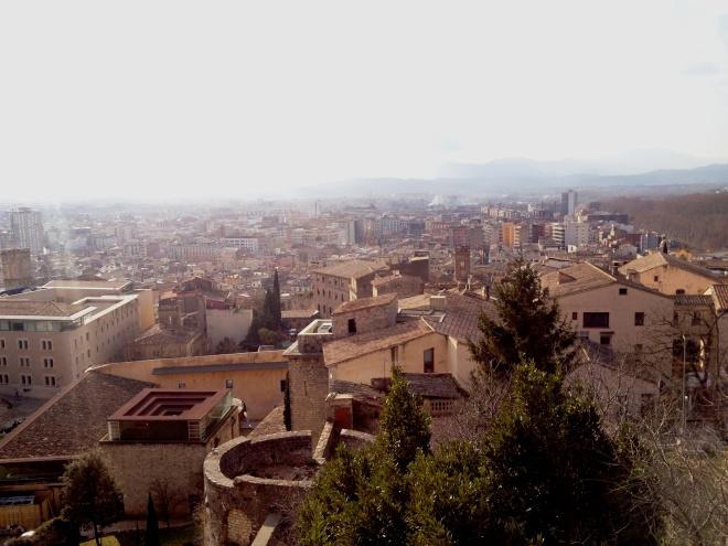 Aerial view of Modern Girona