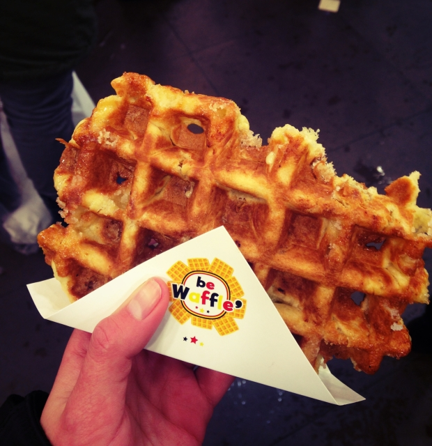 The Liege Waffle - so yummy you can eat it on its own!