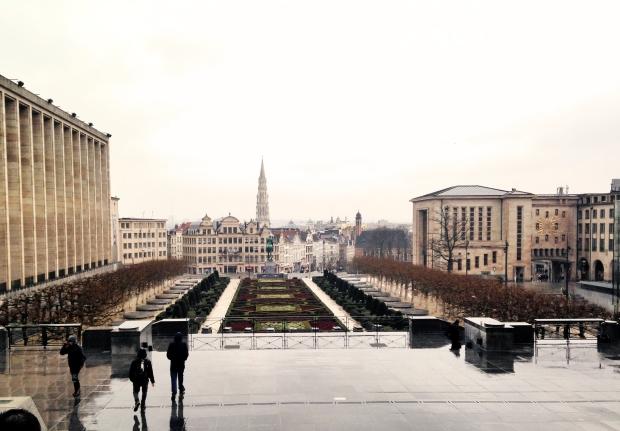 rainy belgium