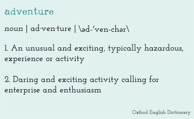 adventure-dictionary-definition