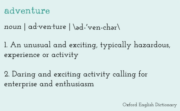 adventure-dictionary-definition