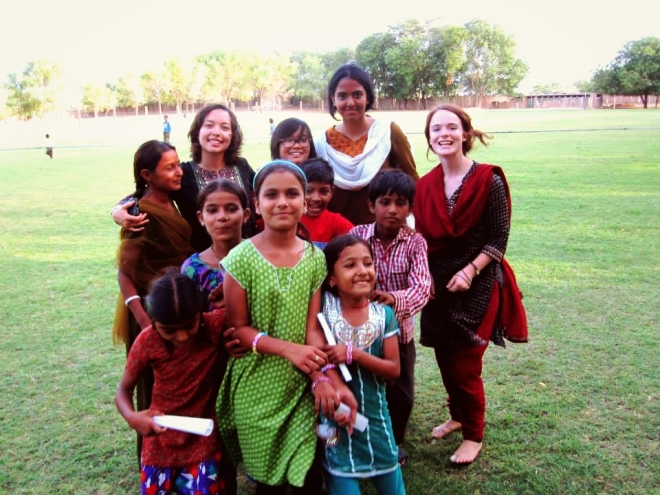 Teaching these children English was challenging yet extremely rewarding