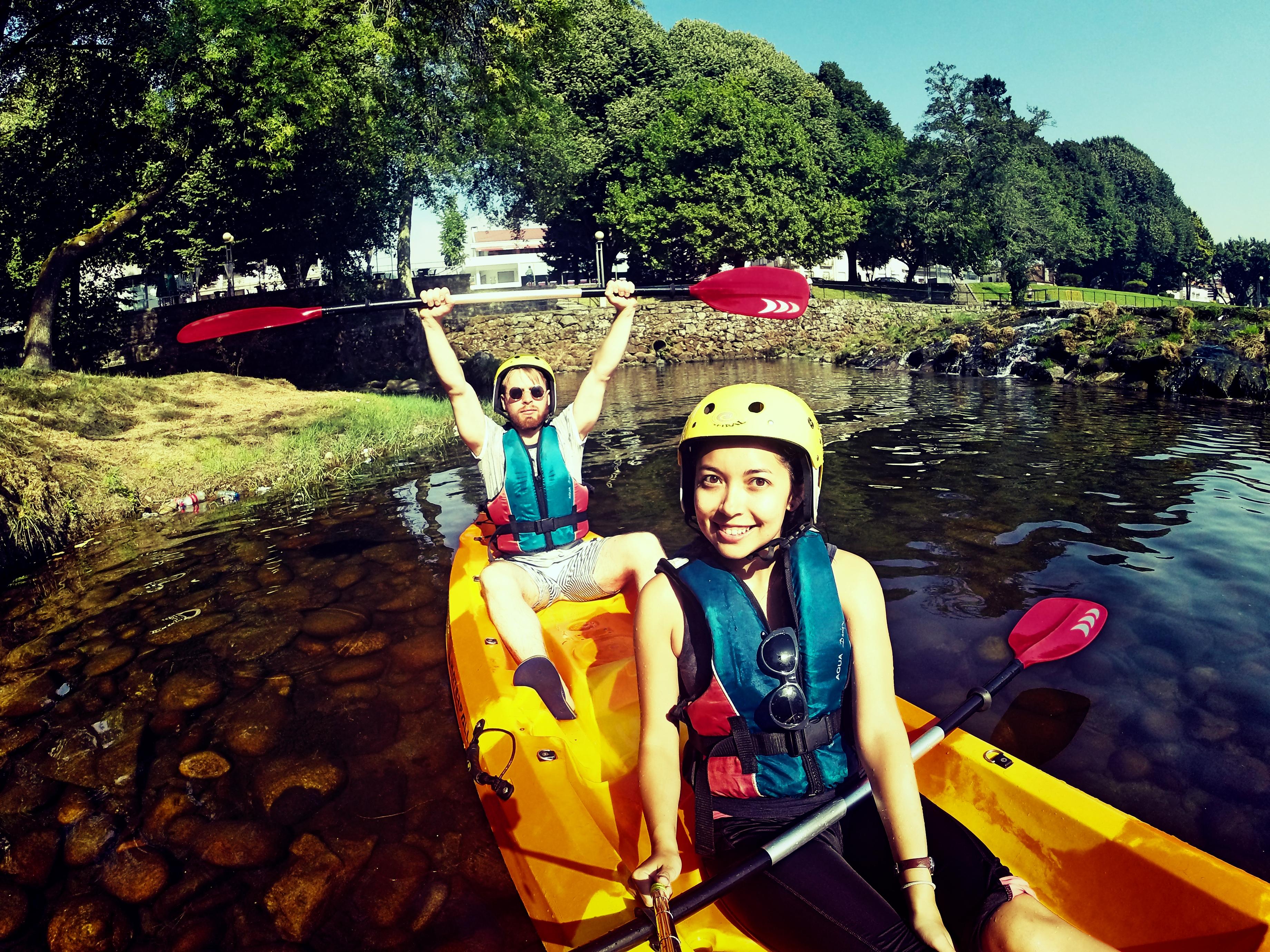 kayak in ponte lima